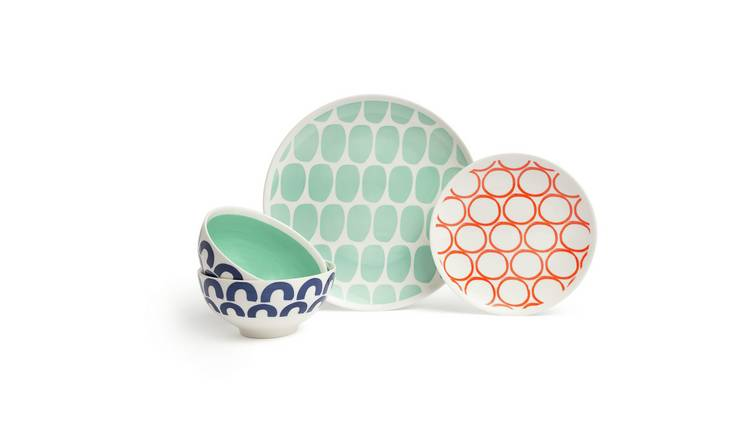 Habitat Mix it up 12 Piece Dinner Set