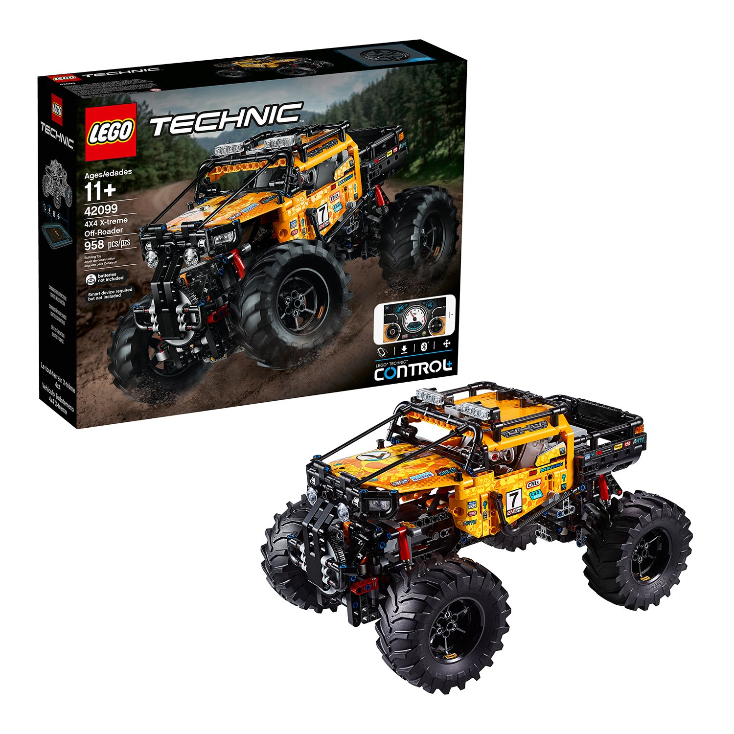 LEGO Technic 4X4 X-treme Off-Roader - 42099