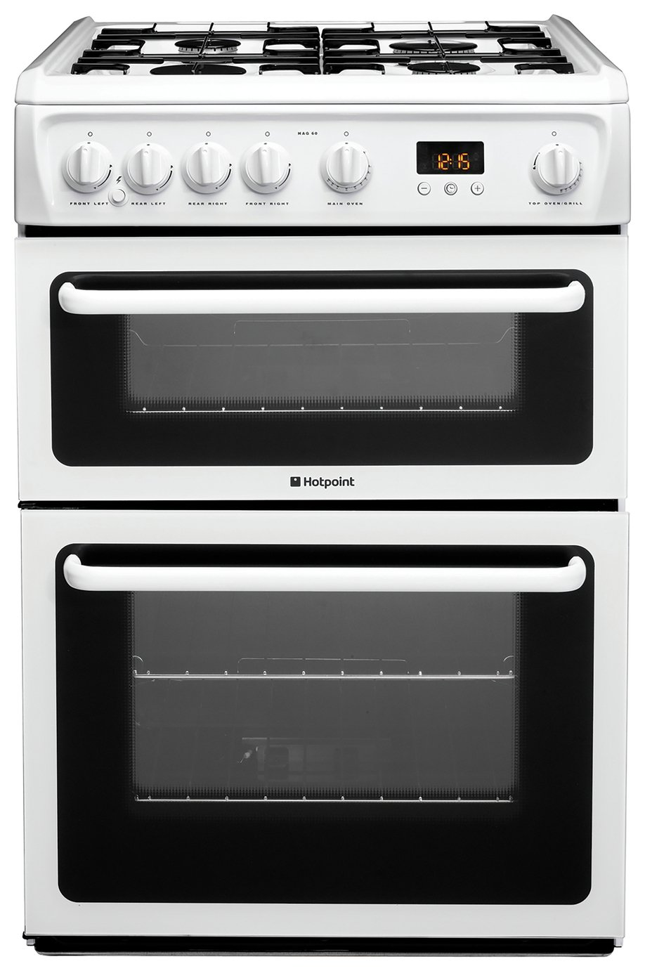 Hotpoint HAG60P 60cm Double Oven Gas Cooker review