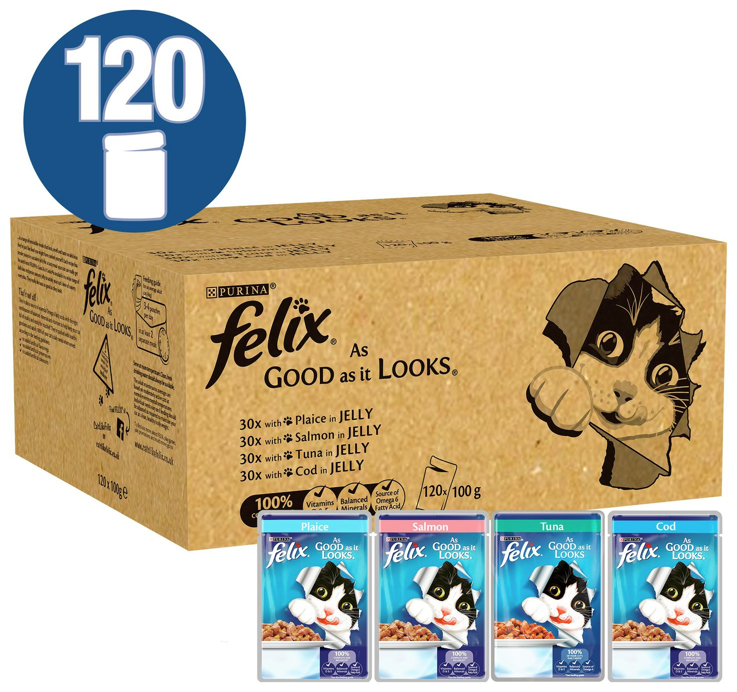 Felix As Good As It Looks Fish 120x100g review