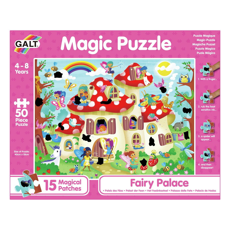 Galt Toys Fairy Palace 50 Piece Magic Puzzle review