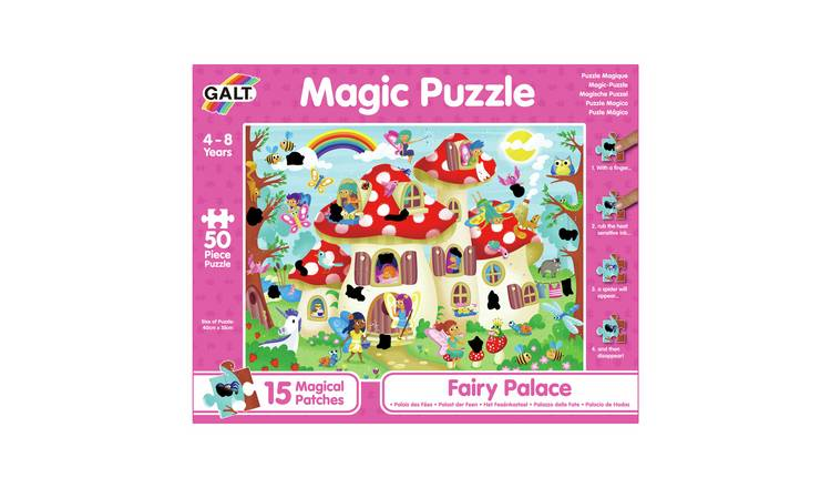 Galt Toys Fairy Palace 50 Piece Magic Puzzle