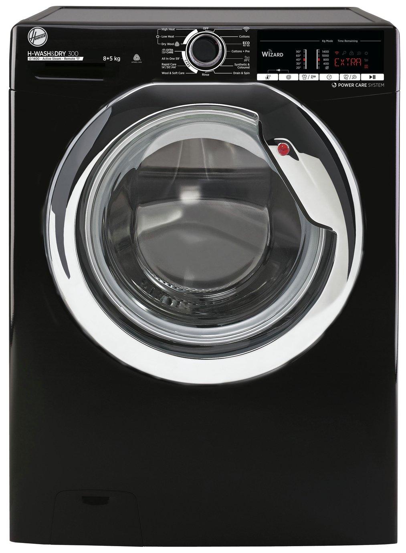 Hoover H3DS4855TACBE 8KG / 5KG Washer Dryer - Black
