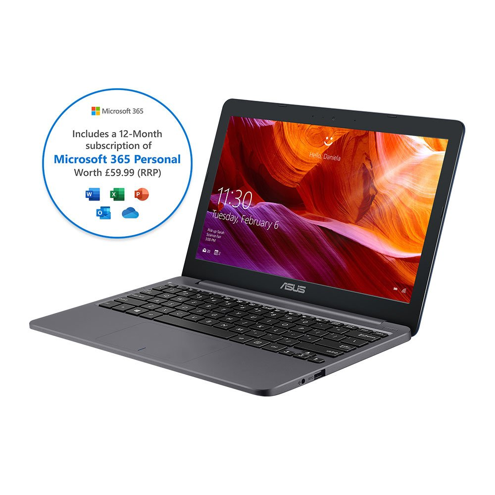 ASUS VivoBook E203 11.6 Inch Celeron 4GB 64GB Laptop review