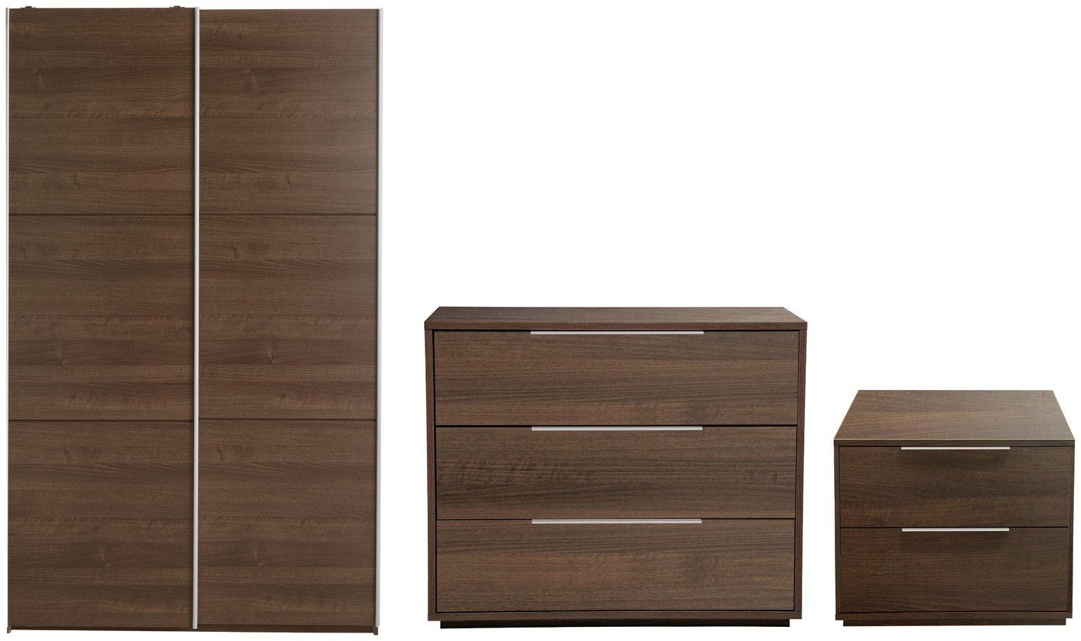 Argos Home Holsted Small Walnut Effect 3 Piece Package review