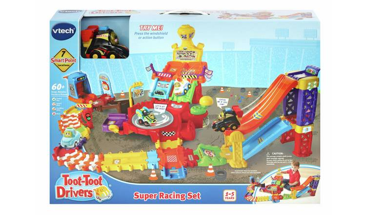 Buy VTech Toot Toot Drivers Super Racing Set | Toy cars, vehicles and sets | Argos