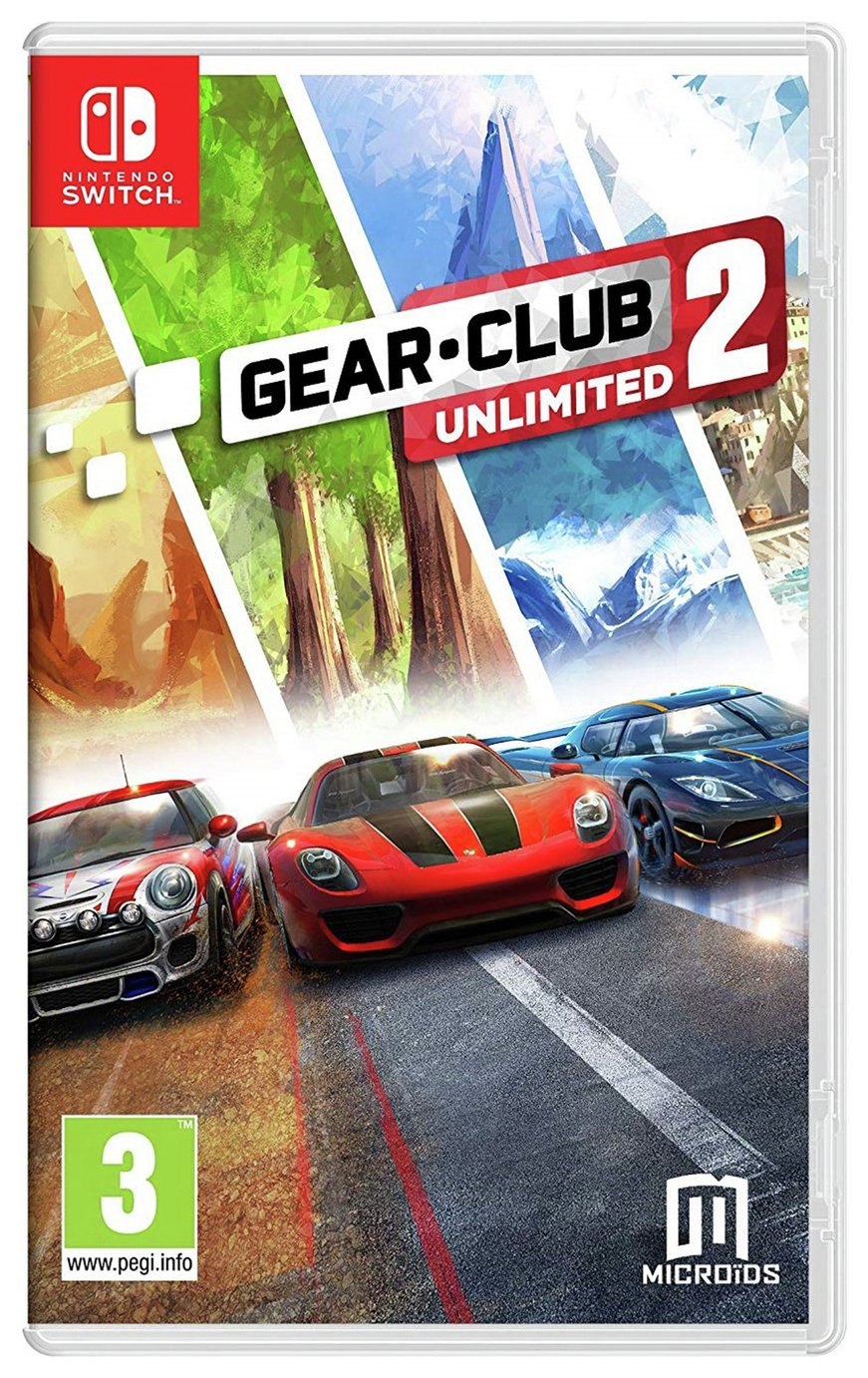 Gear Club 2 Unlimited Nintendo Switch Game review