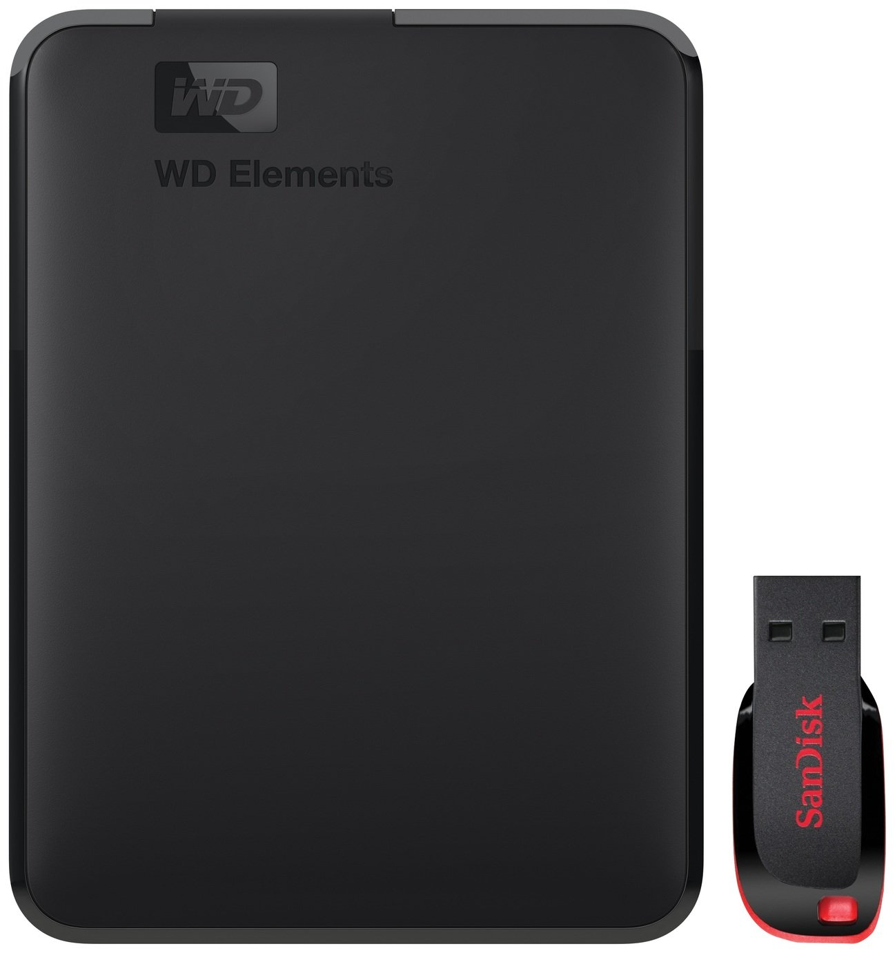 WD Elements 1TB + 32GB Portable Hard Drive