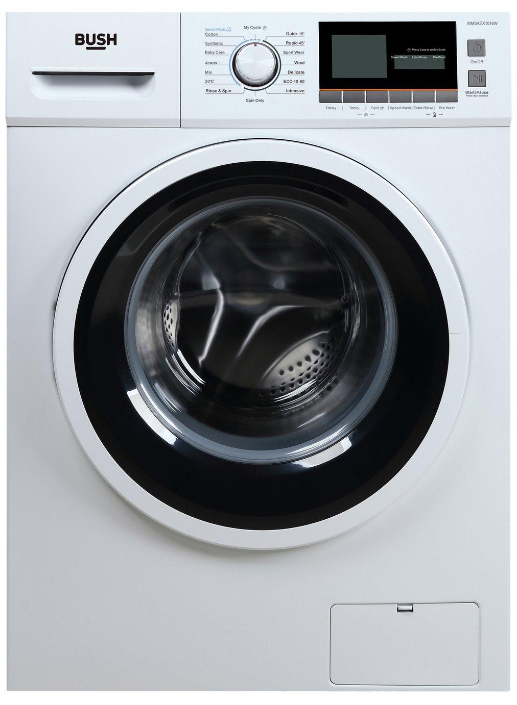 Bush WMSAEX1016W 10KG 1500 Spin Washing Machine - White