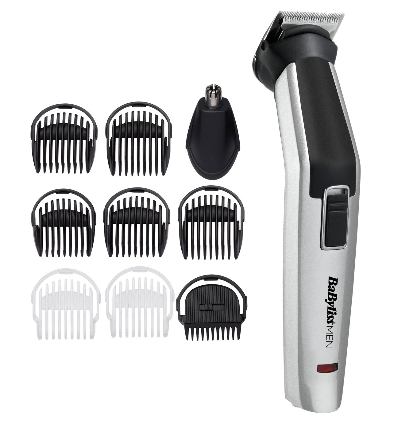BaByliss for Men 10 in 1 Body Groomer and Hair Clipper 7255U