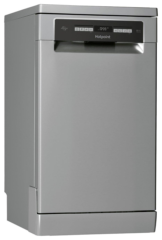 Hotpoint HSFO3T223WUK Slimline Dishwasher - Stainless Steel