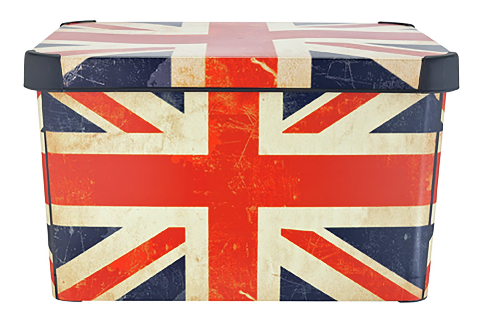Curver Plastic Deco Box - Union Jack