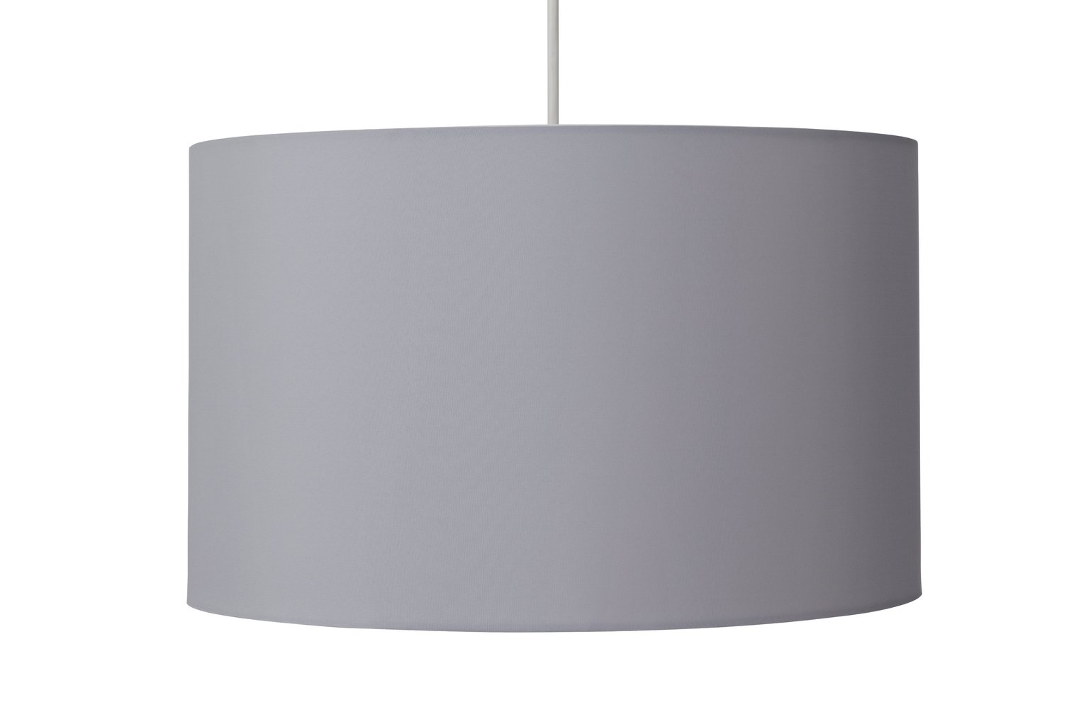 Argos Home Large Drum Shade - Dove Grey