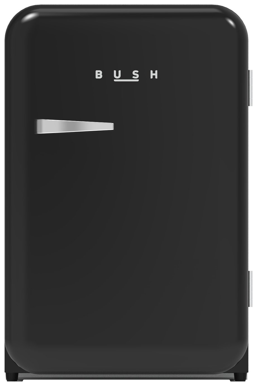 Bush MUCLAR55BLK Under Counter Larder Fridge - Black