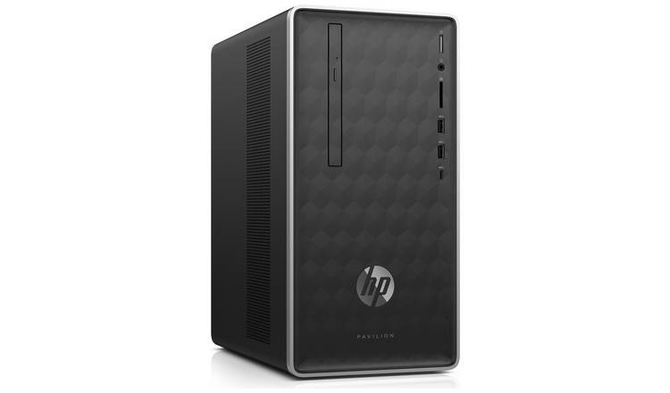Hp Pavilion Celeron 4 Gb 1 Tb Desktop Pc   Black by Argos