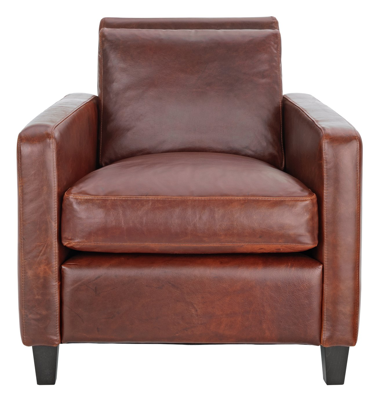 Habitat Chester Leather Armchair - Tan