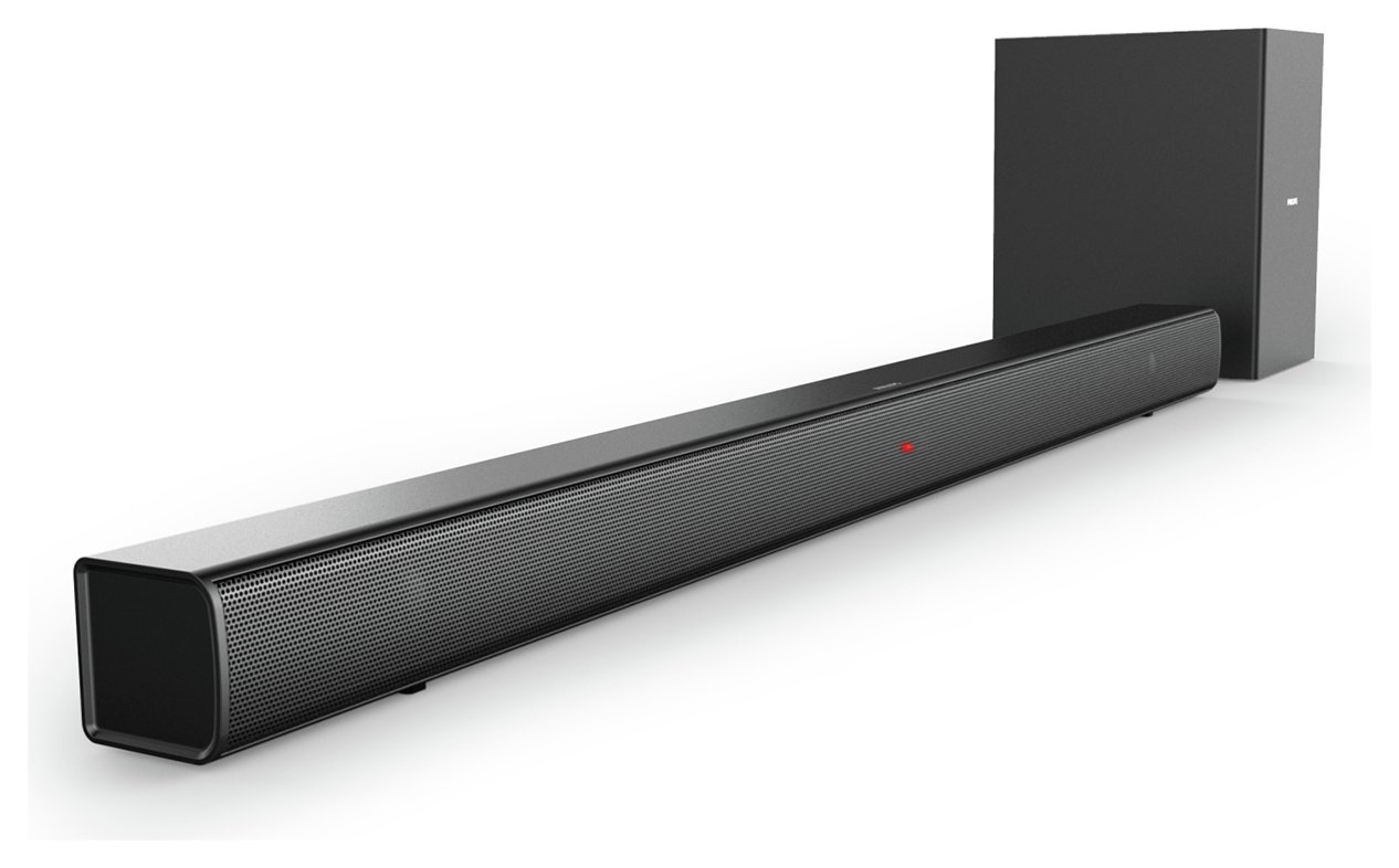 Philips HTL1510B/05 140W 2.1Ch Wireless Sound Bar