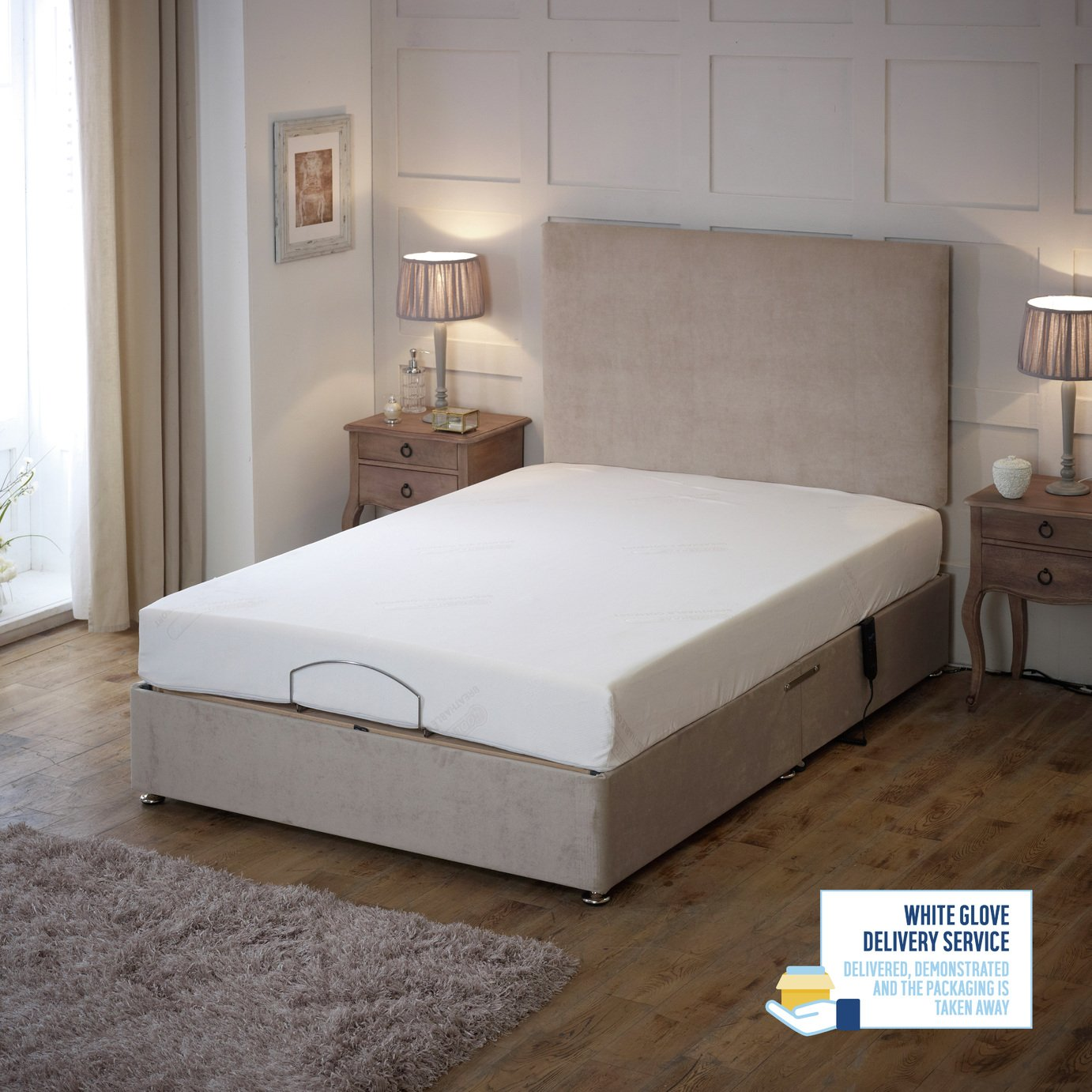Drive Devilbiss 4ft6 Imperial Adjustable Bed Divan