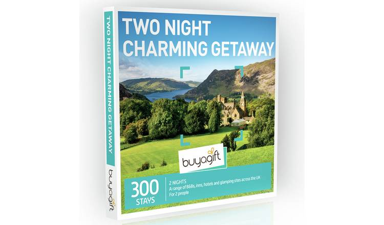 Buyagift Two Night Charming Getaway Gift Experience