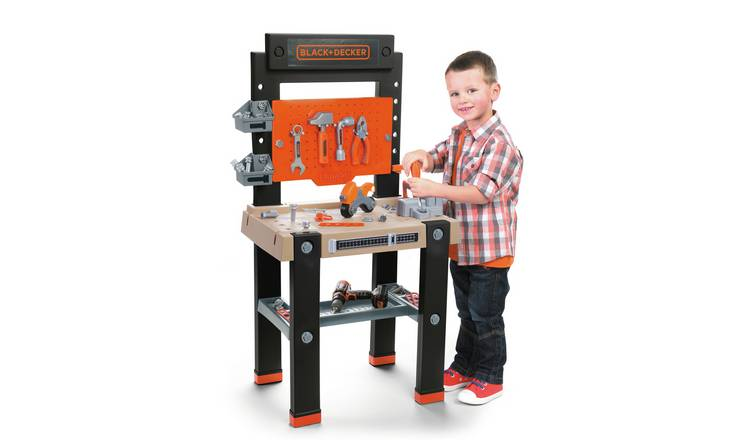 Smoby Giant Black and Decker Toy Workbench