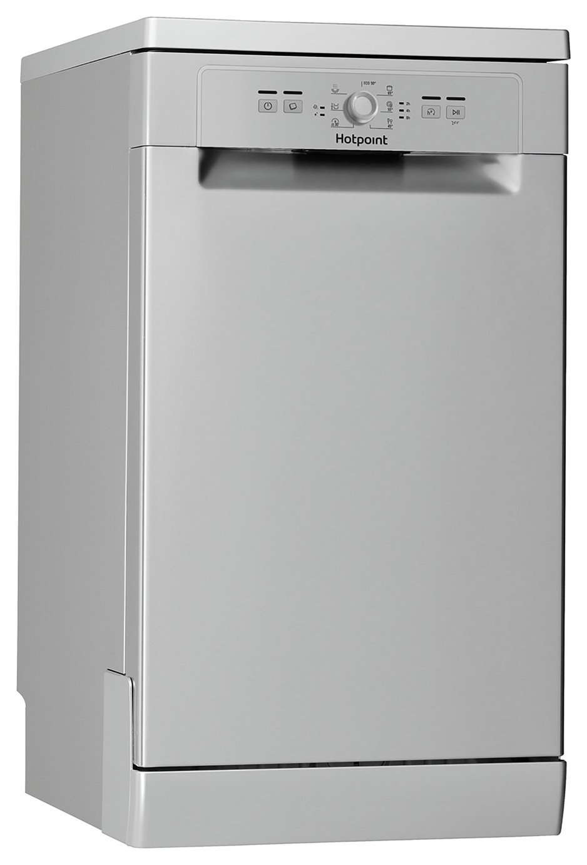 Hotpoint HSFE1B19SUK Slimline Dishwasher - Silver