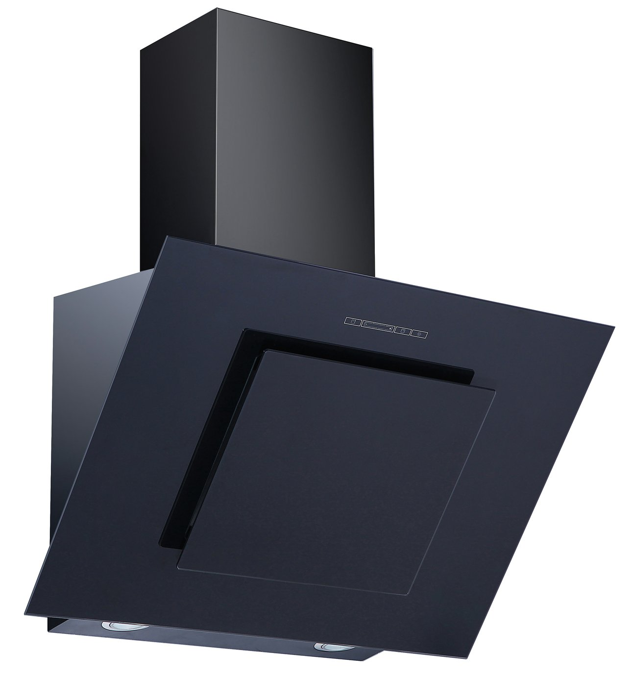 Bush BACH60B 60cm Angular Cooker Hood - Black