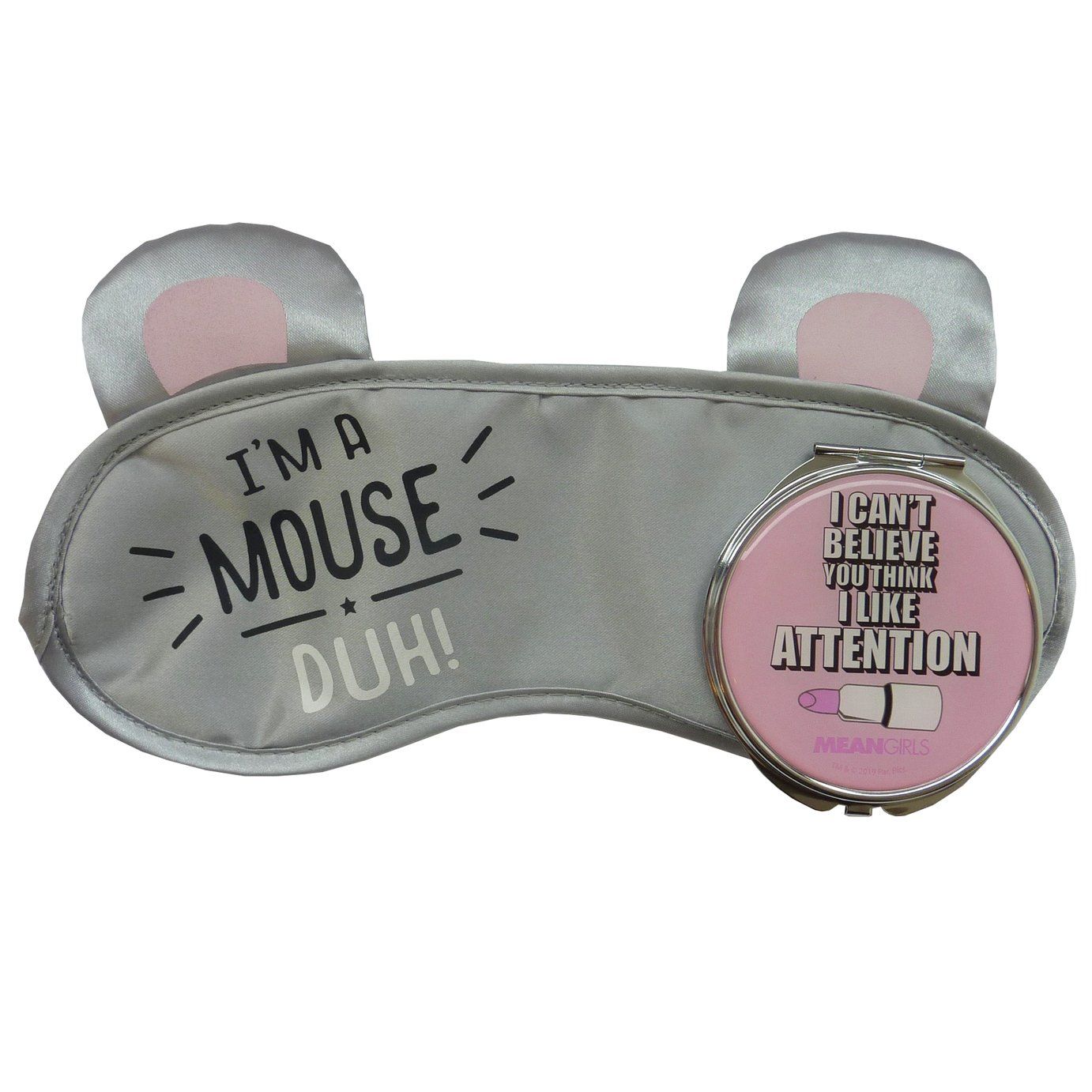 Mean Girls Eye Mask & Compact Mirror Set
