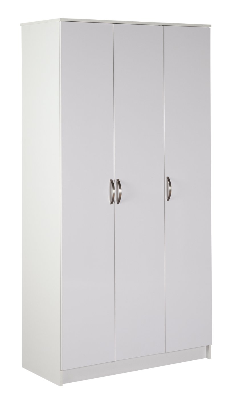 Argos Home Cheval 3 Door Wardrobe