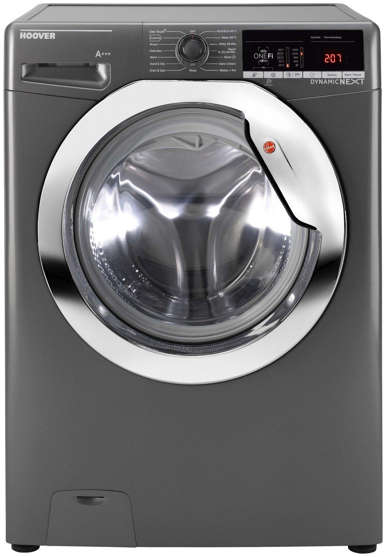 Hoover DWOA413HLC3G 13KG 1400 Spin Washing Machine -Graphite