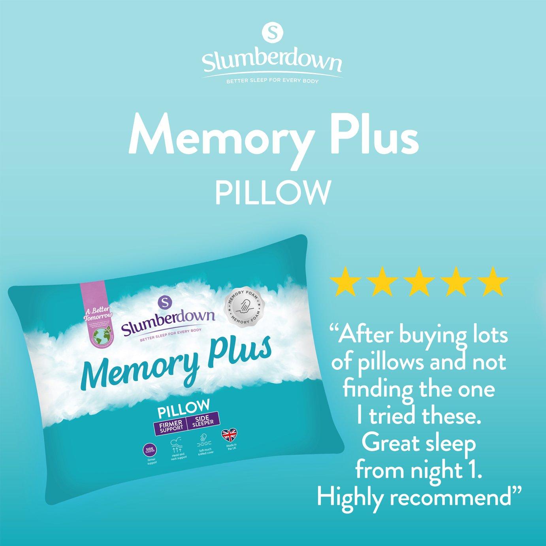 Slumberdown Memory Support Pillow Reviews