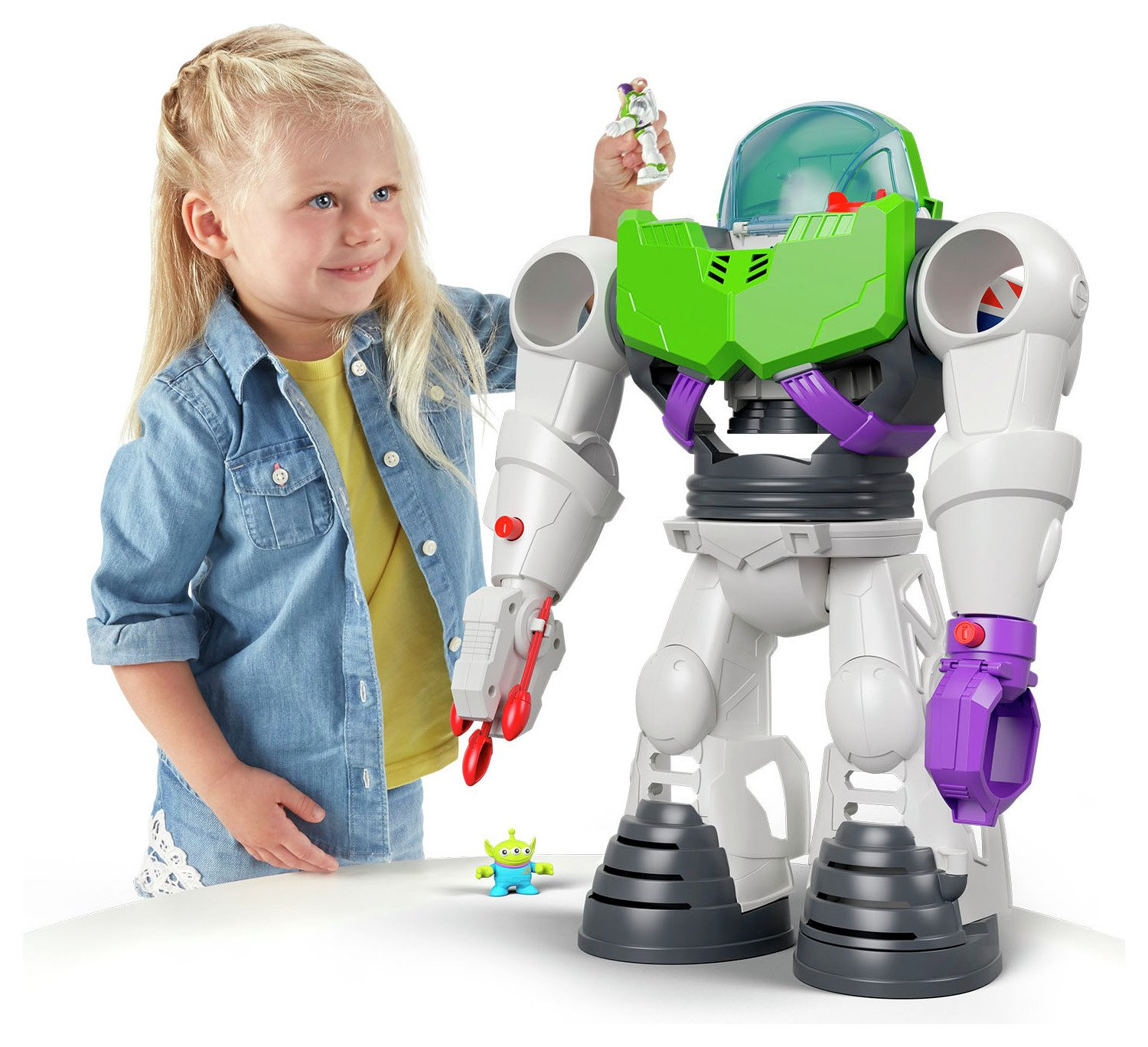 Fisher-Price Imaginext Disney Toy Story Buzz Lightyear Robot