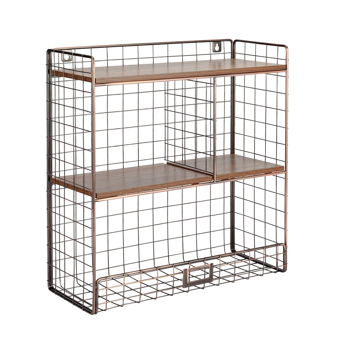 Argos Home Highlands Wire Wall Shelving