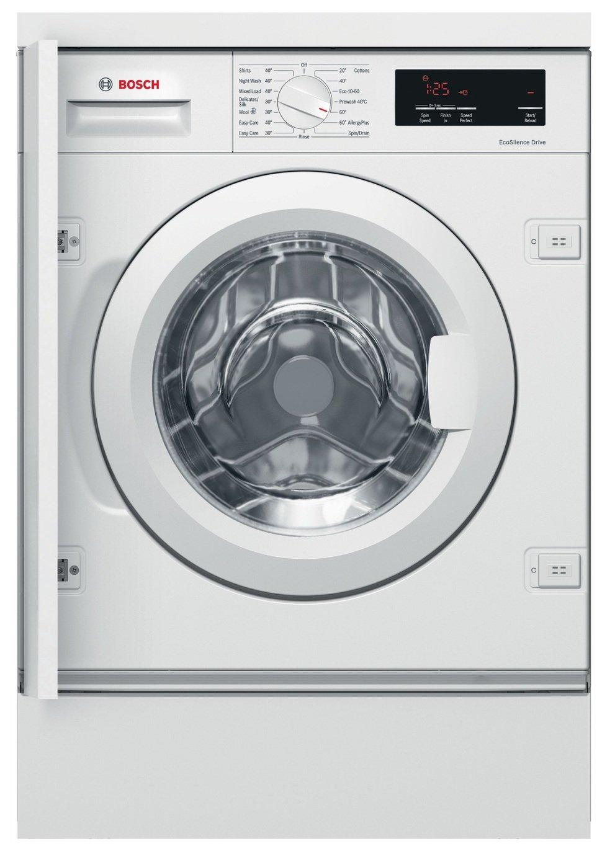 Bosch WIW28301GB 8KG Integrated Washing Machine - White