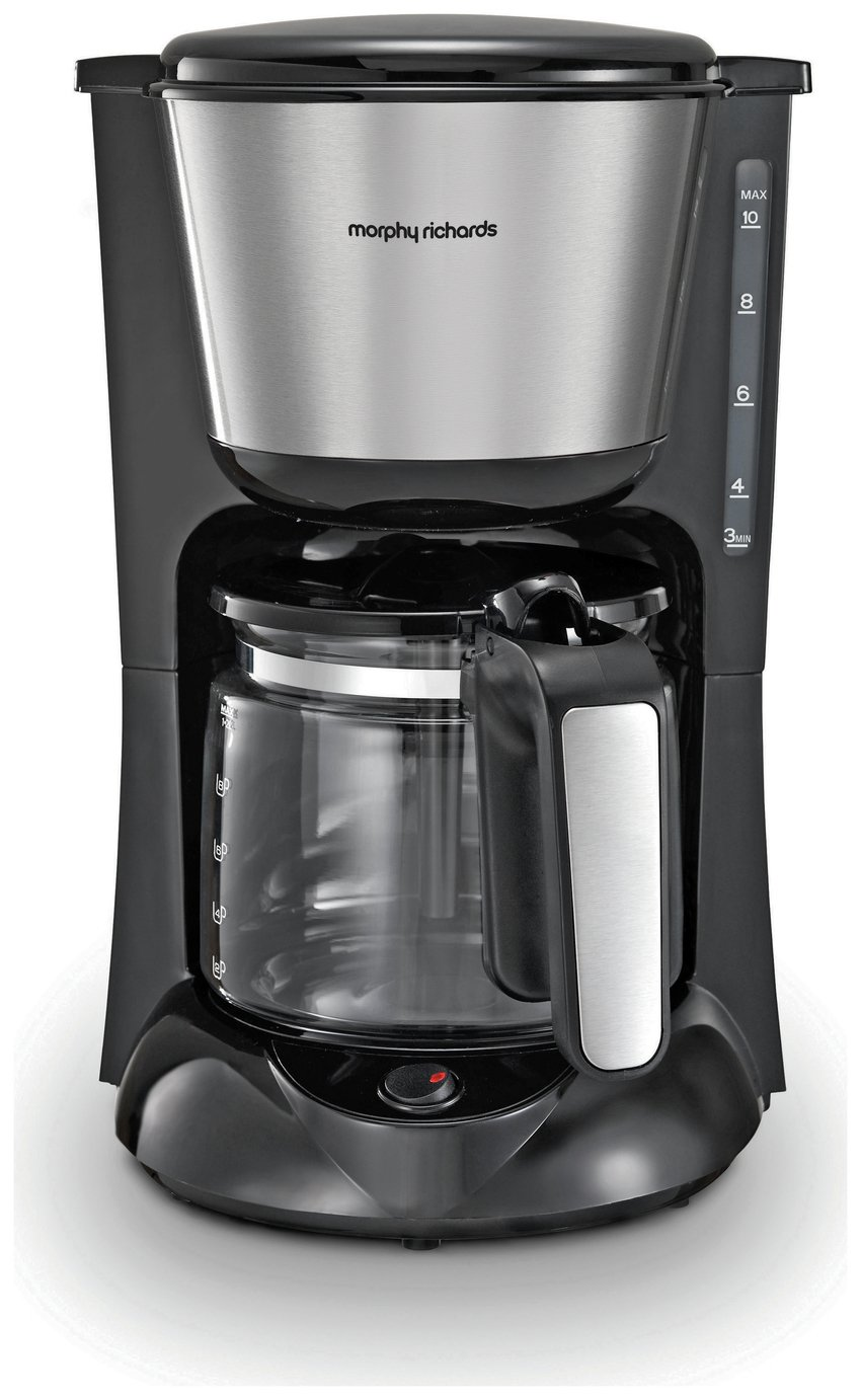 Morphy Richards 162501 Filter Coffee Machine - Black