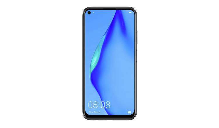 SIM Free Huawei P40 Lite 128GB Mobile Phone - Midnight Black