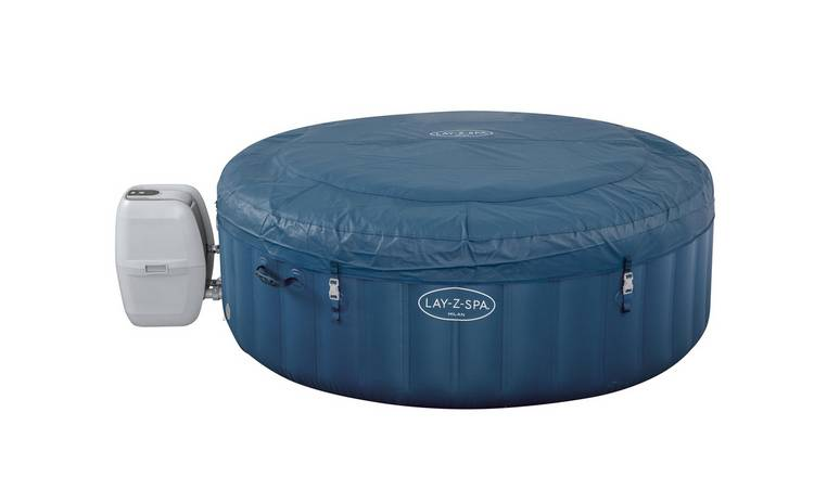 Lay-Z-Spa Milan 6 Person Smart Hot Tub -Pick up Instore Only