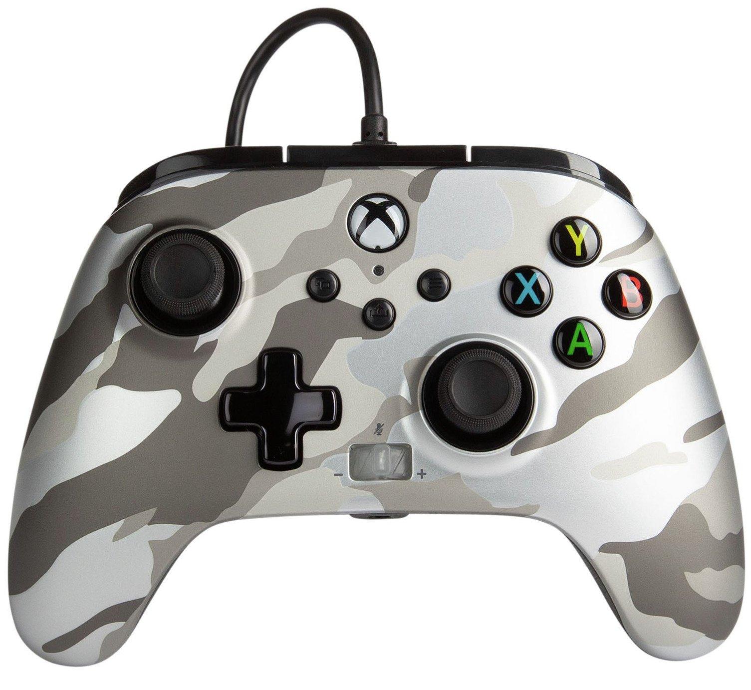 PowerA Xbox X-S / One Enhanced Wired Controller - White Camo