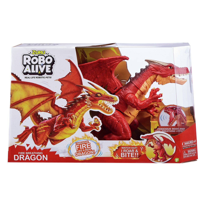 Zuru Robo Alive Fire Breathing Dragon - Red