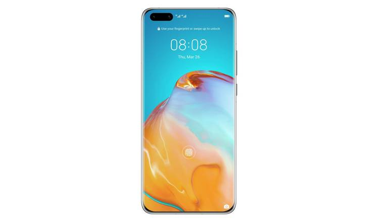 SIM Freee Huawei P40 Pro 256GB Mobile Phone - Black