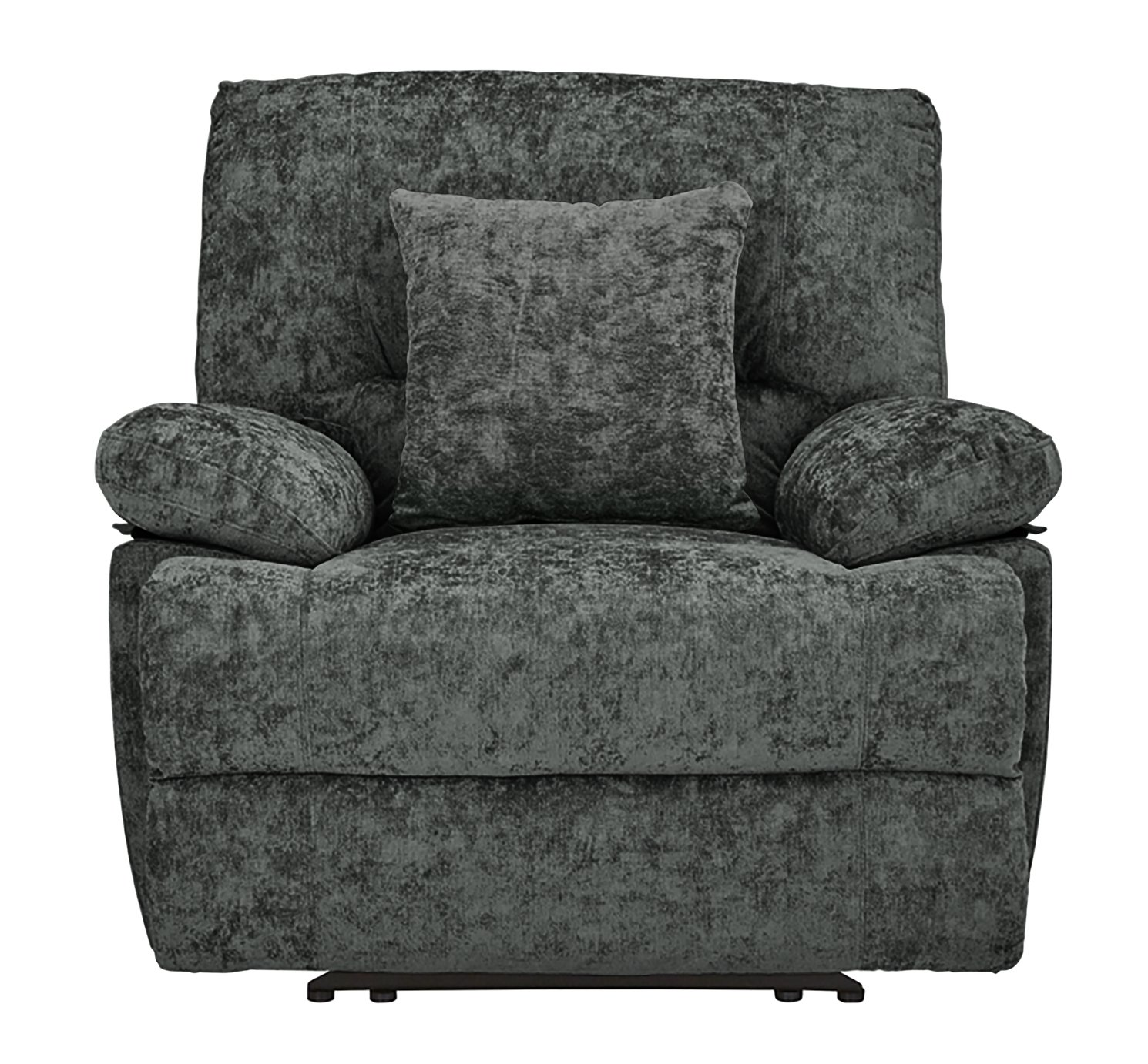 Argos Home Carmilla Fabric Manual Recliner Chair - Charcoal