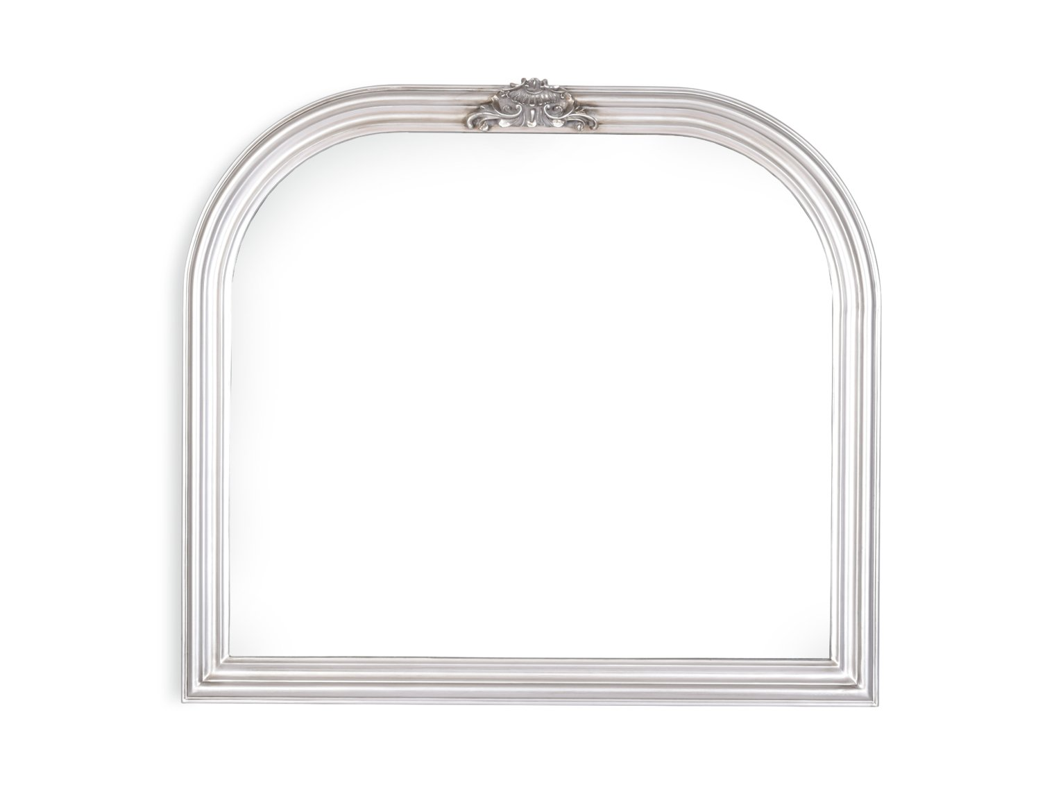 Argos Home Charlotte Ornate Curved Over Mantel Mirror