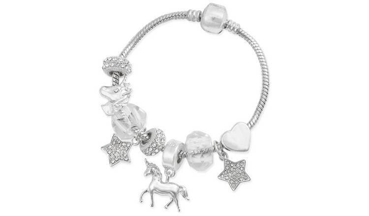 Emoji Unicorn Charm Bracelet 0