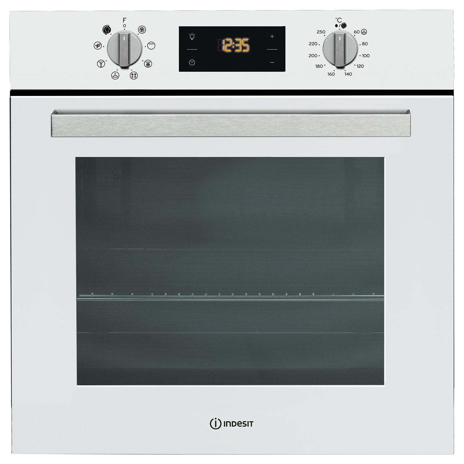 Indesit IFW6340 Built In Single Electric Oven - White