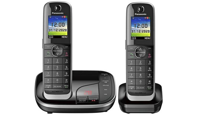 Panasonic Cordless Telephone with Answer Machine - Twin