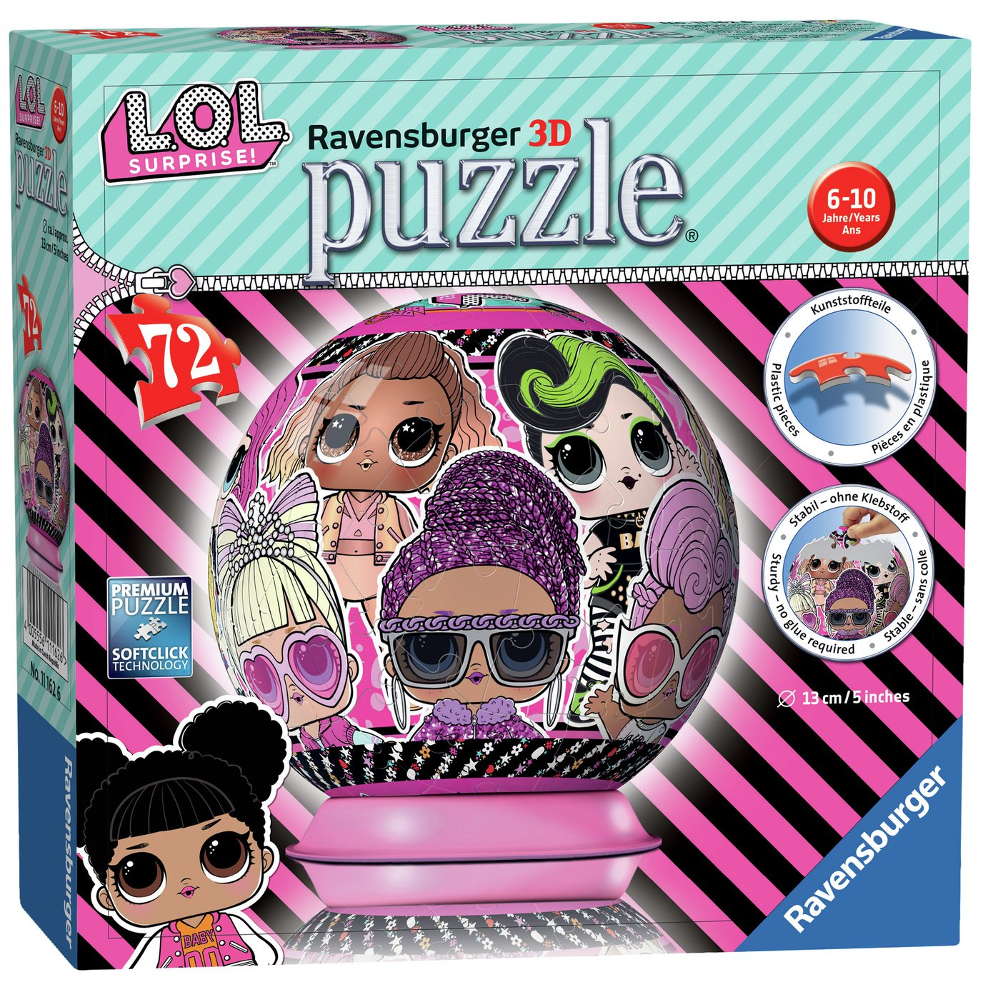 LOL Surprise 72 piece 3D Puzzle