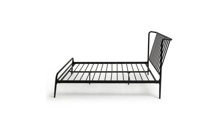Habitat Kanso Double Metal Bed Frame - Black