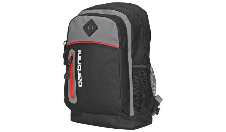 Carbrini 19L Backpack - Black and Grey