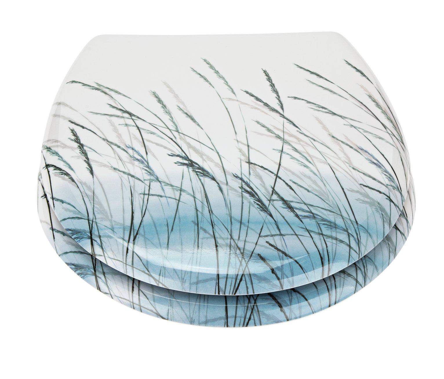 Argos Home Seagrass Toilet Seat