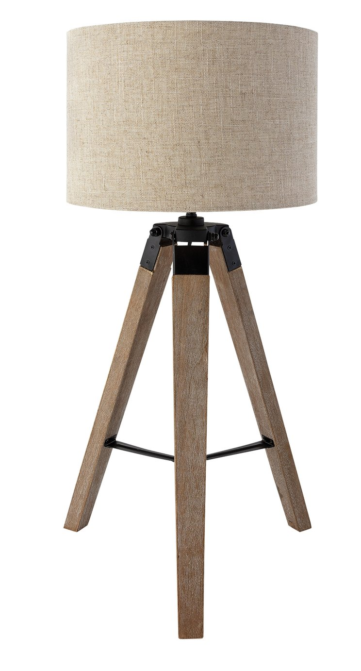 Argos Home Highland Lodge Colonial Tripod Table Lamp