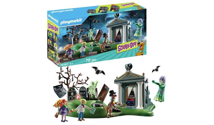 Playmobil 70362 Scooby-Doo! Adventure in the Cemetery